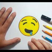 Como dibujar un Emoji paso a paso 13   How to draw an Emoji 13