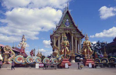 1 novembre 2020 : Udonthani, visite du Wat Sa Mani วัดสระมณี