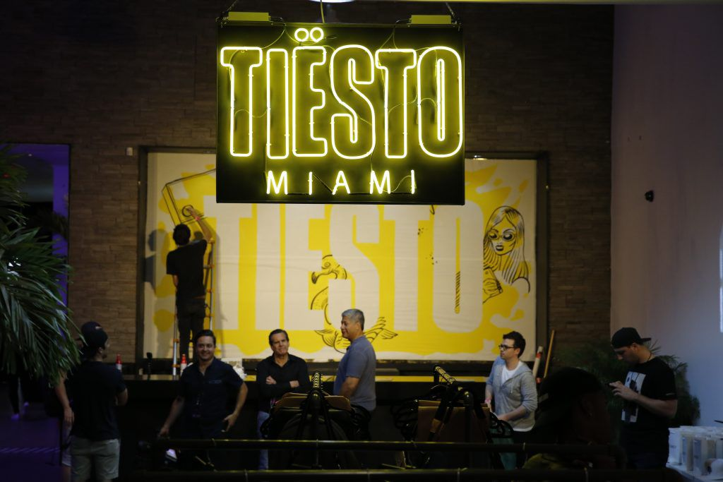 tiesto, First Pop-Up shop in Miami for WMC 2017