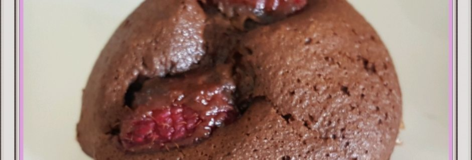 Muffins chocolat / framboise (I-Cook'in)