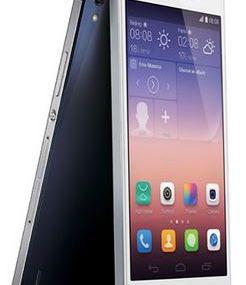 Prise en main du Huawei Ascend P7