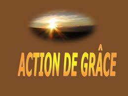Prière n°5 : Prière pour rendre une Action de grâce