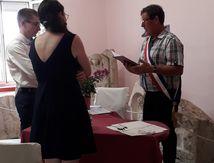 Vendredi 14 Août 2020 mariage à Soulosse sous Saint Elophe