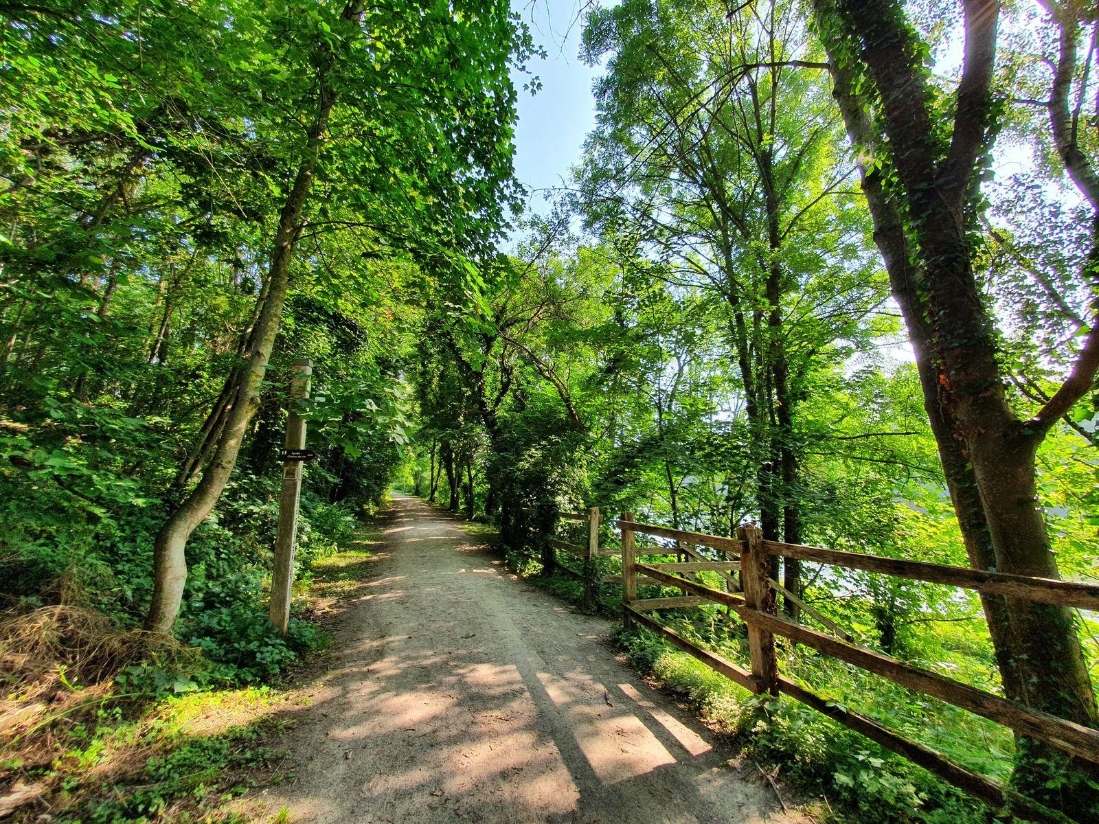 """Sentier """"Les Hauts de Santes"""", site de La Gîte, Santes"""