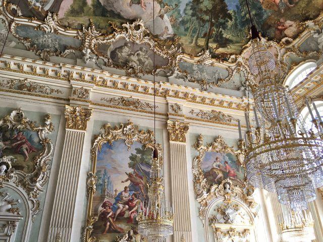 Salons de nymphes Château Nymphenburg Munich Allemagne