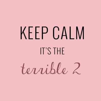 """Le """"terrible two"""""""