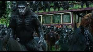 La planète des singes: l'affrontement  ( Dawn of the planet of the apes )