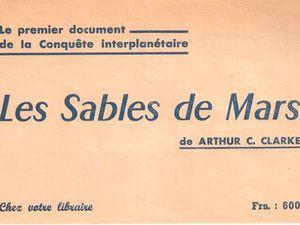 Flyer promotionnel de l'édition de 1955 des éditions Fleuve Noir