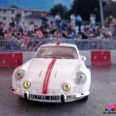 RENAULT ALPINE A110 1600S BANDE ROUGE 1976 IXO 1/43 - car-collector.net