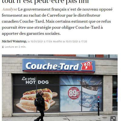 Dans les médias (218) : La Croix : Couche-Tard, Carrefour et Bercy : tout n'est peut-être pas fini