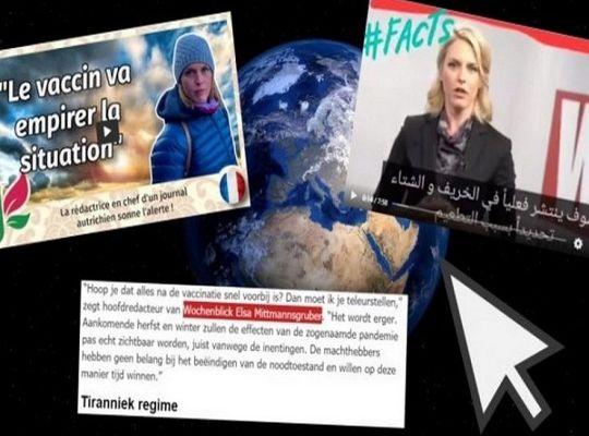 La vidéo censurée de la rédactrice en chef du magazine Wochenblick fait le tour du monde : «La vaccination est la vraie « pandémie »» (Vidéo)
