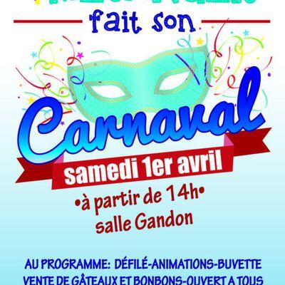 Carnaval des écoles à Mésanger