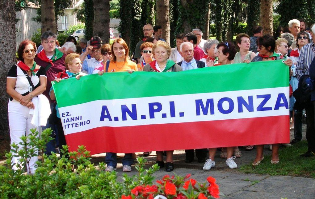 17 giugno 2007: a Fondotoce con ANPI Monza