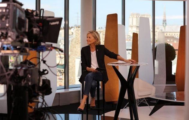 Entrée Libre : Claire Chazal reçoit Michèle Laroque ce lundi sur France 5