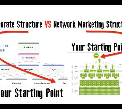 Cooprate Structure VS Network Structure