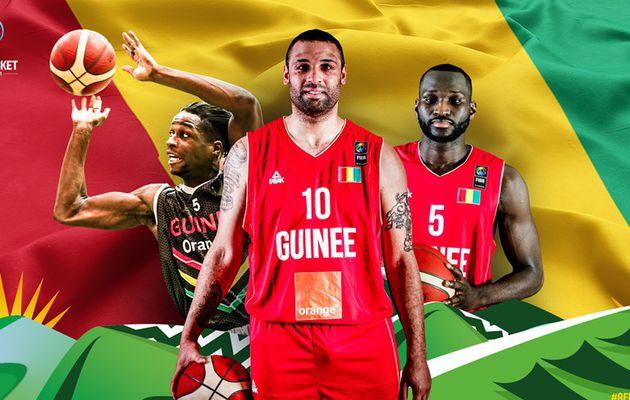 Revue d'équipe de FIBA Afrique pour l'AfroBasket 2021 : la République de Guinée