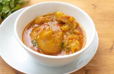 Carry de pieds de veau - Cuisine indienne