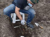 Clichés réalisés sur le site au cours des fouilles - Crédit photo : EFE/Byron Ortiz/Mulalo Archaeological Project - Salatilin