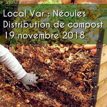 Local Var - Néoules - Distribution de compost - 19 novembre 2018