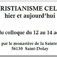 Christianisme celtique : actes du colloque 1995