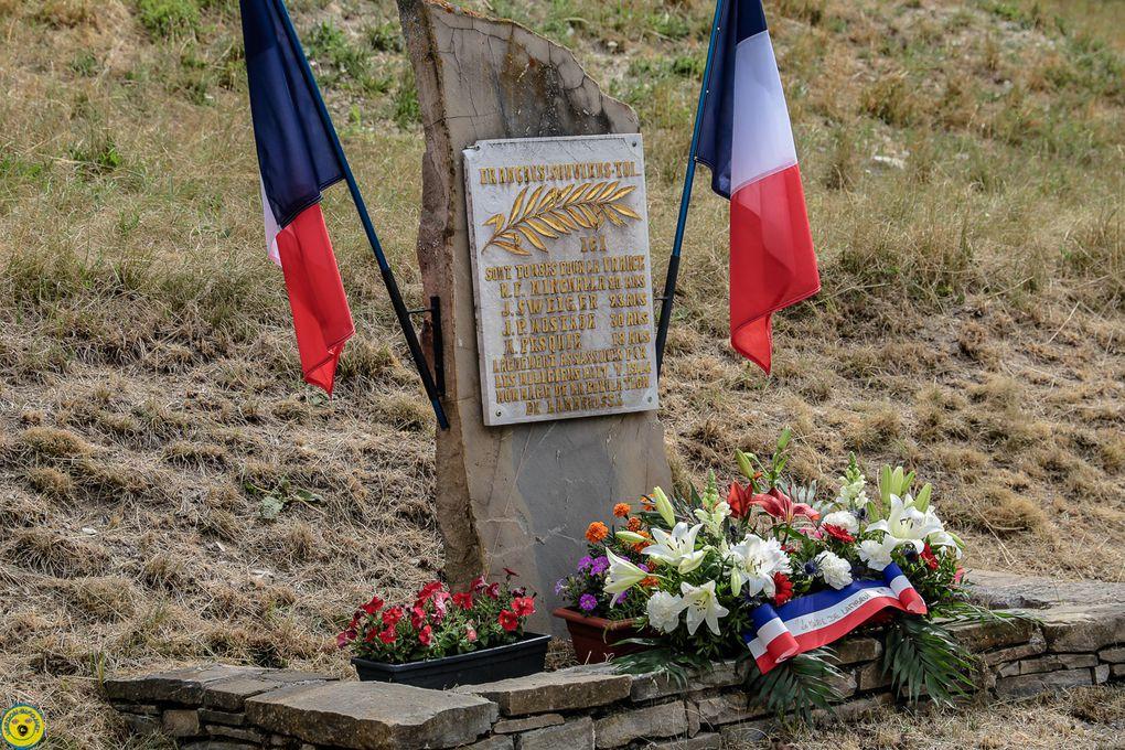 Lambruisse : Une commémoration émouvante a la ferme Laval