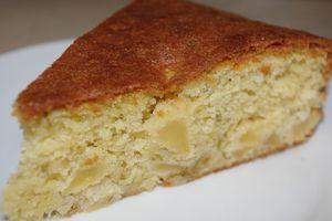 Gâteau pommes et romarin