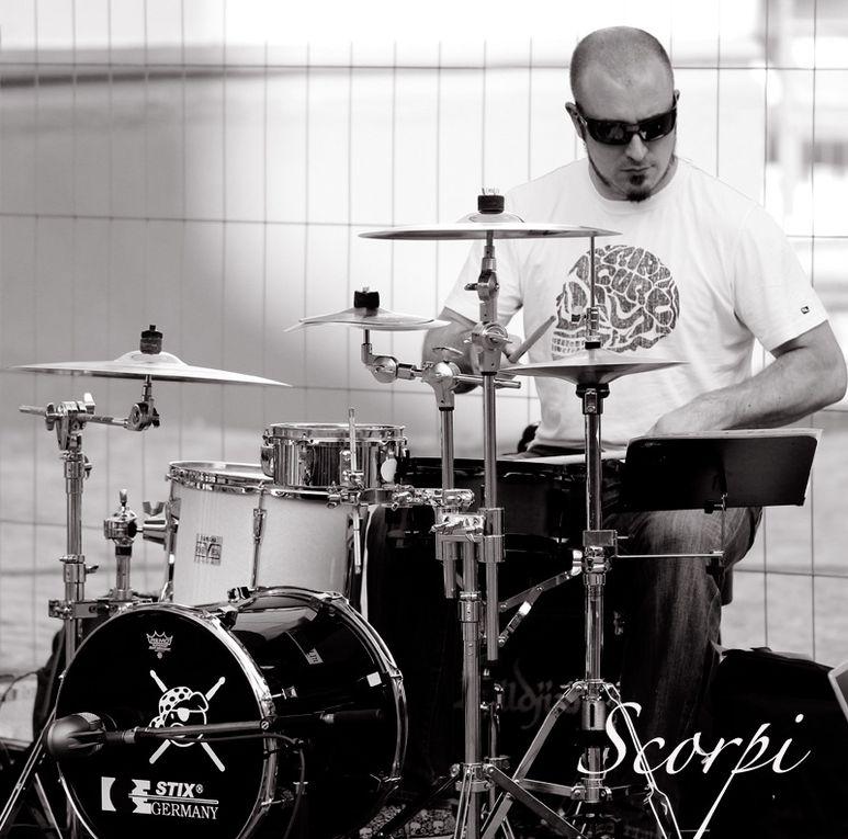 Drummer bei Thomas Godoj