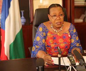 Message du Nouvel AN 2016 de S.E Madame Catherine SAMBA-PANZA, Chef de l'Etat de la Transition
