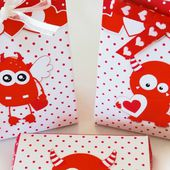 Monster Love Cookie Box and Treat Bag