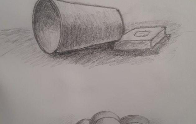Ces dernières semaines dans les cours de dessin du mercredi matin : Groupe des débutants