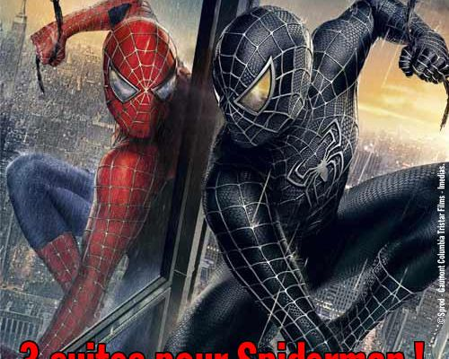 3 suites pour Spiderman !