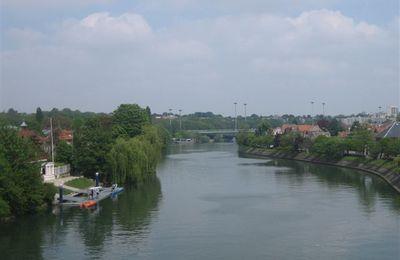 Les bords de Marne de Joinville le Pont à Gournay en vélo