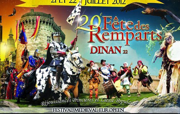 Fête des Remparts Dinan 2012