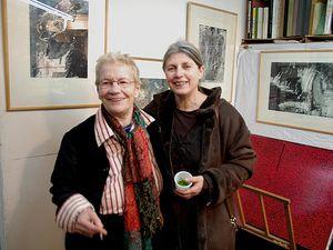 Une Graveure : Marie Genevieve Havel nous a quitté []