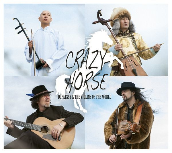 Duplessy & the Violins of the World, nouvel album Crazy Horse !