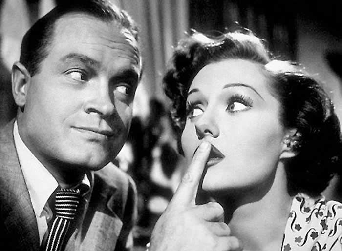 "Ms. Fleming as an amorous duchess with Bob Hope in the 1949 film ""The Great Lover.""Credit...Associated Press"