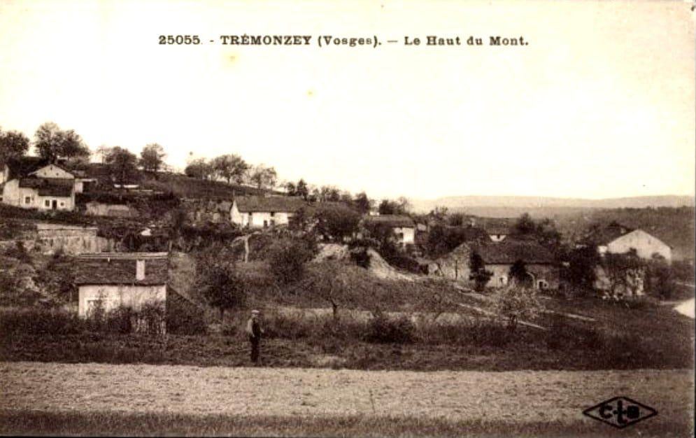 Trémonzey autrefois