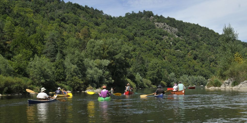 la Haute Loire en canoë et kayak, du 15 au 19 août