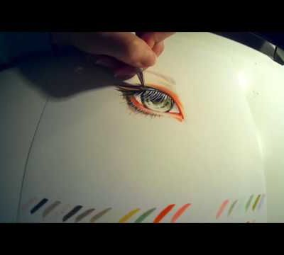 Speedpainting: Eye
