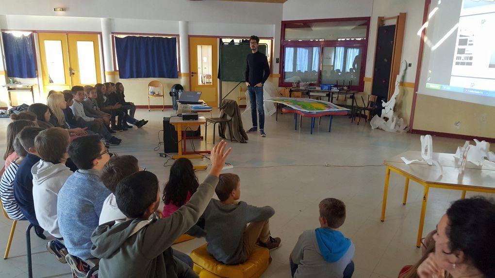 Campagn'art : rencontre avec François Feutrie (photos CM2)