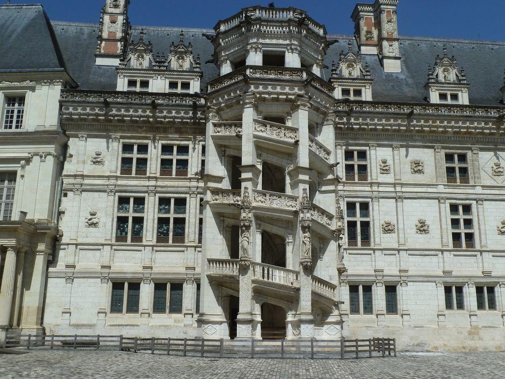 Blois et son château.