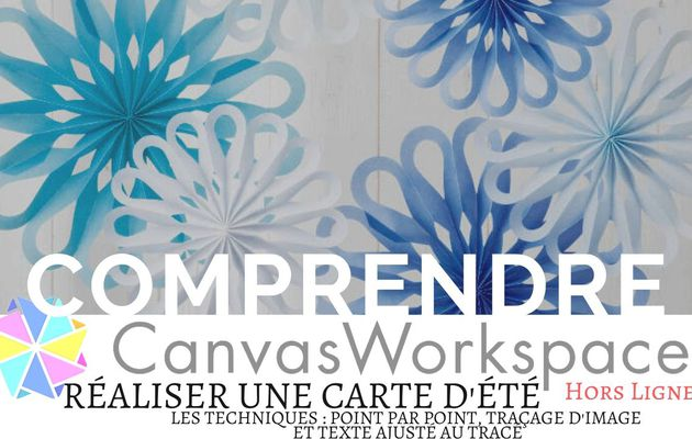 Canvas Workspace, Réaliser une carte d'été...