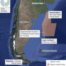 Naufrage du San Juan : la Russie dépêche un navire de sauvetage et des experts en Argentine