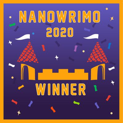 NaNoWriMo 2020 : And the winner is...