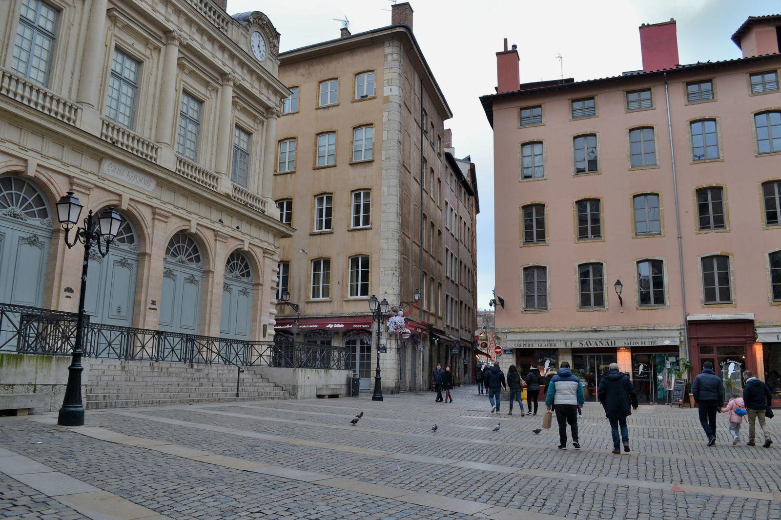 Le Vieux Lyon, le quartier médiéval et renaissance de la ville de Lyon...