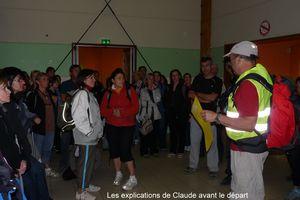 1ère randonnée nocturne de Piolenc le 07 mai 2011!!