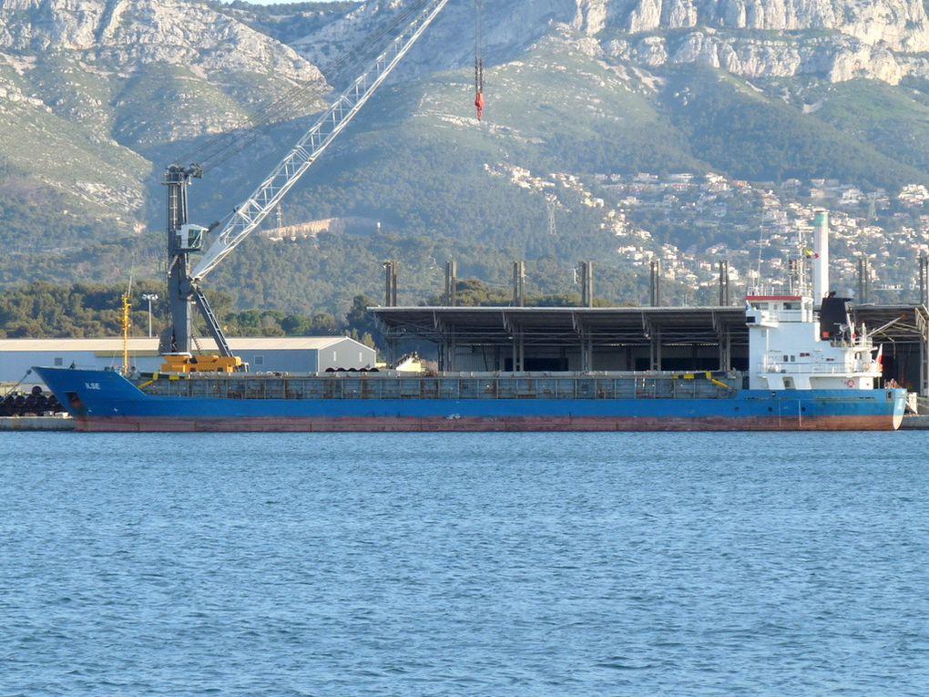 ILSE , à quai dans le port de Toulon /Brégaillon le 29 mars 2015