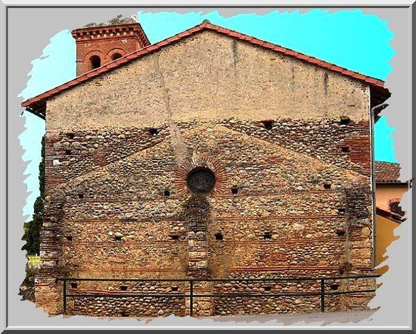 Diaporama église fortifiée de Bonnac