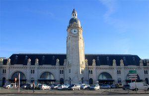 La Rochelle - La gare - extérieur