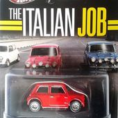 AUSTIN ROVER MORRIS MINI COOPER ITALIAN JOB HOT WHEELS 1/64 - BRAQUAGE A L'ITALIENNE - car-collector.net